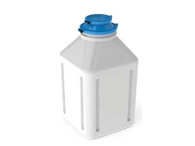 Pharmaflaschen HDPE Ezidock