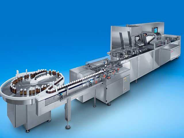 Kartoniermaschine Pharma - CUK von Bosch